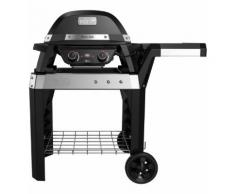 Barbecue électrique WEBER PULSE 2000 noir avec chariot Noir Weber