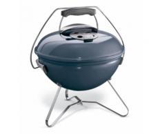 Barbecue charbon WEBER SMOKEY JOE PREMIUM 37cm SlateBlue Bleu Weber