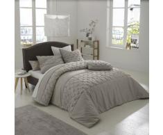La Redoute Interieurs - Couvre-lit en satin de coton KHIN . Gris La Redoute Interieurs