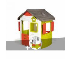 Cabane enfant Neo Jura Lodge - Smoby + Espace jardin