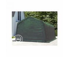 Tente garage carport 3,3 x 4,8 m tente d'élevage abri stockage bâches PVC antifeu épaisses de 720