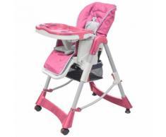 Chaise haute réhausseur bébé Rose Maja+ MJ10062