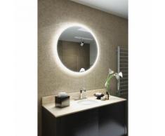 Miroir de Salle de Bain Revo RGB à Bord Super Fin avec Capteur,Antibuée k515 - multi-couleur