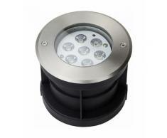 Spot LED Extérieur à Encastrer 7W (éclairage 50W)   Blanc Chaud (3000K)