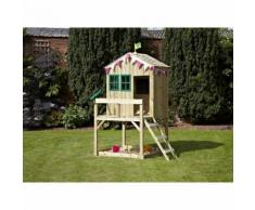 Maisonnette Enfants en Bois Outdoor Toys Forest Cottage - KTP351