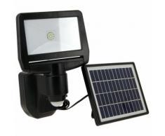 Projecteur à LED solaire à détecteur de mouvement