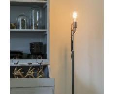 QAZQA Moderne Lampadaire / Lampe de sol / Lampe sur Pied / Luminaire / Lumiere / Éclairage élégant