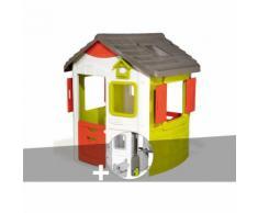 Cabane enfant Neo Jura Lodge - Smoby + Récupérateur d'eau
