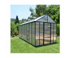 Serre de jardin en polycarbonate Glory 11,9 m² - longueur : 4m84