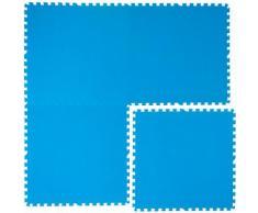 eyepower Tapis Puzzle EVA 81x81cm pour recouvrir protéger fond bord piscine douche   1cm