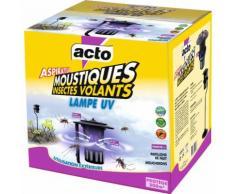 Lampe UV aspirateur moustiques Acto - 15 W - Noir