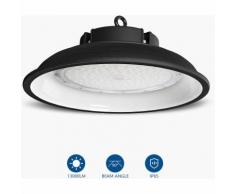 Anten 100W UFO Projecteur LED Lampe Industrielle Suspension IP65 Phare de Travail 13000LM Spot