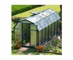 Serre de jardin en polycarbonate Rion Eco Grow 9,16 m², Ancrage au sol Oui - longueur : 4m49