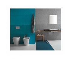 BIDET à poser - forty3 - 57 x 36 cm - cod FO009 - Ceramica Globo | Noir brillant - Globo NE