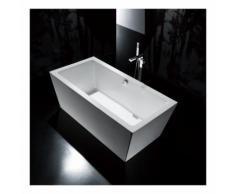 Baignoire ilot Rectangulaire - Acrylique Blanc - 170x80 cm - Copenhague
