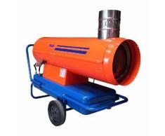 SPLUS - Générateur mobile fioul automatique à cheminée-pompe monotube 34kW - GF 35 AC