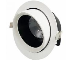 Projecteur LED extractible rond COB 43.8W 4968 Lm 30° | Blanc chaud 3000K