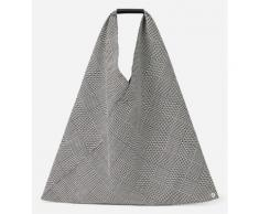 Sac origami imprimé Noir MM6 Maison Margiela
