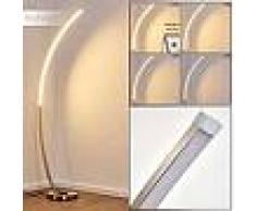 Antares Lampadaire Antares LED Nickel mat, 1 lumière - Design - Intérieur - Antares - Délai de livraison moyen: 3 à 6 jours ouvrés. Port gratuit France métropolitaine et Belgique dès 100 ?.
