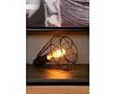 lucide Lampe de table Lucide KYARA Noir, 1 lumière - Vintage - Intérieur - KYARA - Délai de livraison moyen: 10 à 14 jours ouvrés. Port gratuit France métropolitaine et Belgique dès 100 ?.