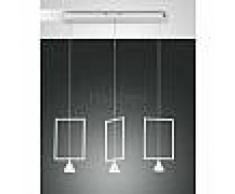 fabas luce Suspension Fabas Luce Sirio LED Blanc, 3 lumières - Design - Intérieur - Sirio - Délai de livraison moyen: 10 à 14 jours ouvrés. Port gratuit France métropolitaine et Belgique dès 100 ?.