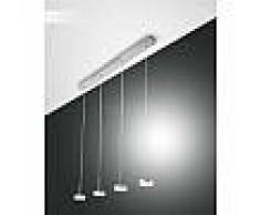 fabas luce Suspension Fabas Luce Dunk LED Aluminium, 4 lumières - Moderne - Intérieur - Dunk - Délai de livraison moyen: 10 à 14 jours ouvrés. Port gratuit France métropolitaine et Belgique dès 100 ?.