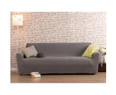 Housse de canapé 2 places grise bi-extensible LISA