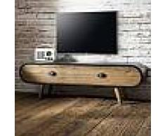 Meuble TV acier bois design industriel - CALIFORNIA TV
