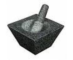 kitchen craft Mortier et pilon trapèze en granit