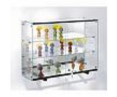 Vitrine d'exposition murale verre