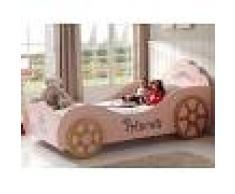 Mobistoxx Lit enfant voiture PINK LADY 90x200 cm rose