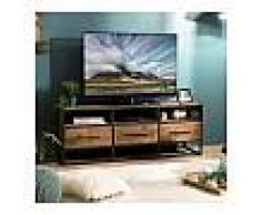so inside Meuble TV design industriel 150x40cm Tinesixe