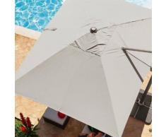 Toile de parasol déporté Fresno Taupe Jardin