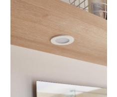 Kit 1 spot à encastrer salle de bains Bazao fixe led INSPIRE LED integrada blanc