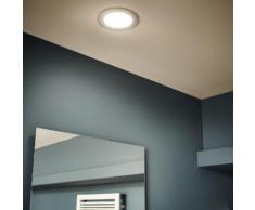 Kit 1 spot à encastrer salle de bains Extrabath fixe INSPIRE LED intégrée acier