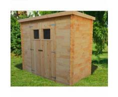 Abri de jardin bois 3,05 m2.