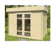 Abri de jardin en bois VULCAIN 6 m² - 28 mm