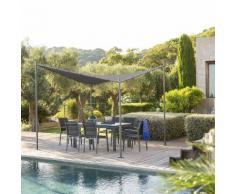 Tonnelle Certeli Graphite & Ardoise Jardin