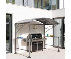 Abri à barbecue Neiba Graphite Jardin