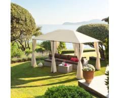 Tonnelle rectangulaire Santorini Écru Jardin