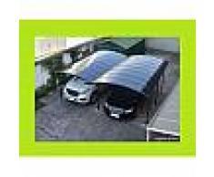 Carport double en aluminium 5,05x6m