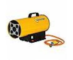 Chauffage air pulsé mobile au gaz propane avec batterie Sovelor BLP17MDC
