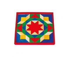 Mosaïque - jouet - puzzle en bois - 1038