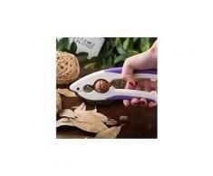 Casse noix ou fruits a coque ergonomique poignee GRIP couleur variable