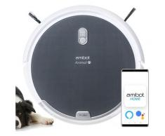 Robot aspirateur et laveur AMIBOT Animal Comfort H2O Connect - Grey