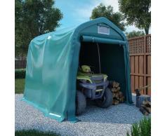 Tente de garage PVC 2,4x2,4 m Vert