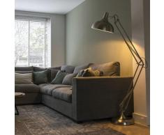 Lampadaire Design acier - Hobby Moderne Luminaire interieur Rond - Qazqa