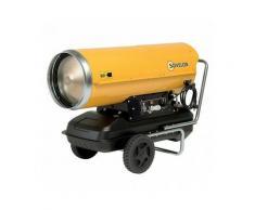 Chauffage air pulsé mobile au fuel à combustion directe (sans cheminée) HP65 SOVELOR