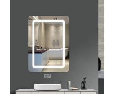 ® Miroir de salle de bain Lumineux LED 9W 70*50*0.4 cm - Sifree