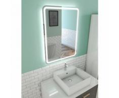 Miroir salle de bain LED auto-éclairant WINDOW 60x80cm